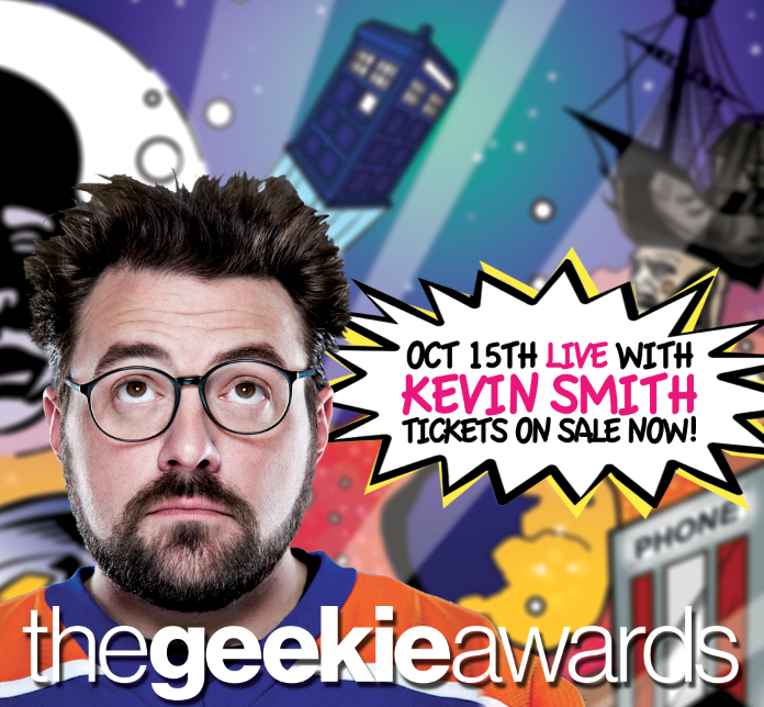 Kevin Smith at the Geekies